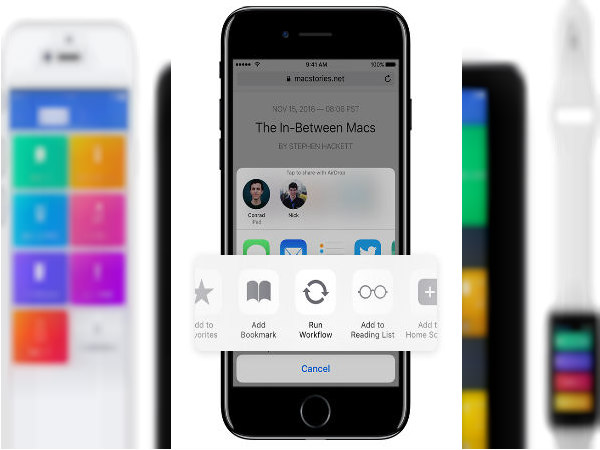 Apple acquires an automation app – Workflow; makes it free