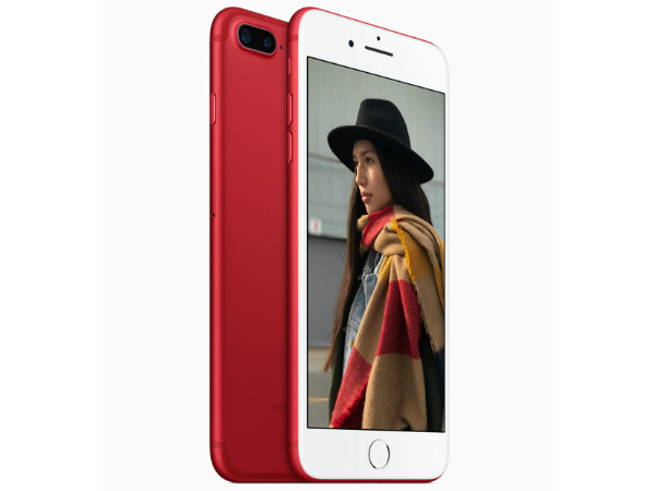 Apple unveils iPhone 7 and iPhone 7 Plus (PRODUCT)RED Special Edition