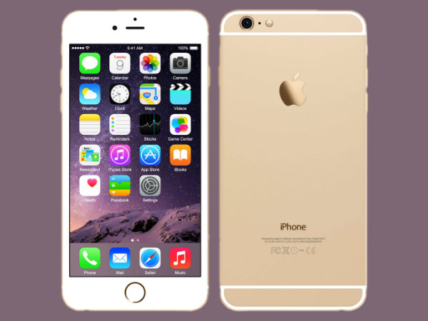 Apple releases new 32GB Gold iPhone 6 for Asian market