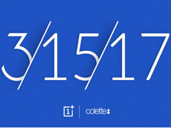 OnePlus could announce a Blue OnePlus 3T on Wednesday, March 15