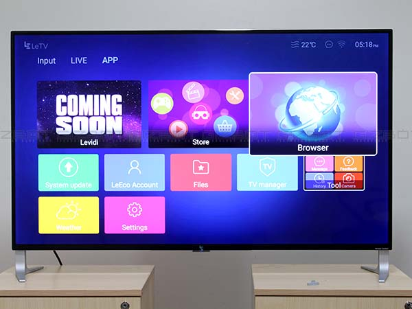 Buy LeEco Super4 series TV from Amazon and get up to Rs. 8,500 off