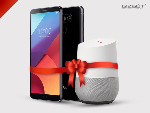 Get a free Google Home if you buy LG G6 by April 30
