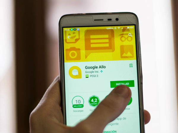 Google Allo app reveals search history to your friends