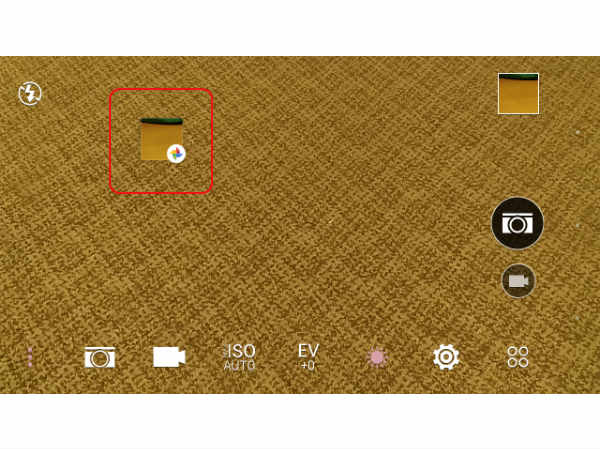 How to add Google Photos shortcut to your Android device camera