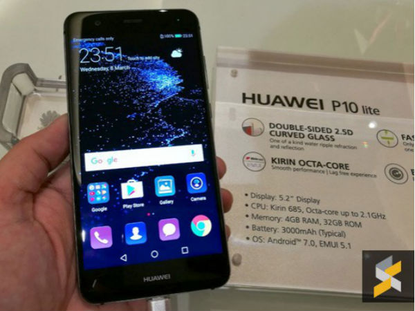 Huawei P10 Lite goes official in Malaysia; might come soon to India