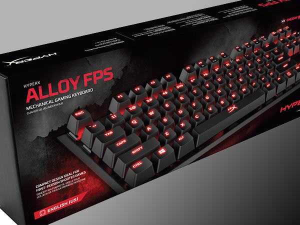 HyperX Alloy FPS gaming keyboard launched at Rs 8,999