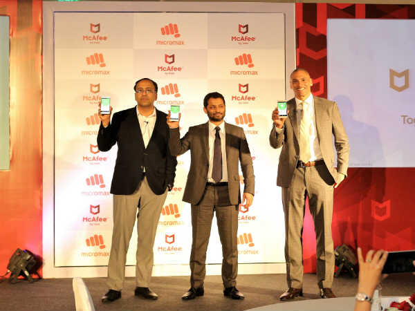 Micromax smartphones to come with preloaded McAfee mobile assistant