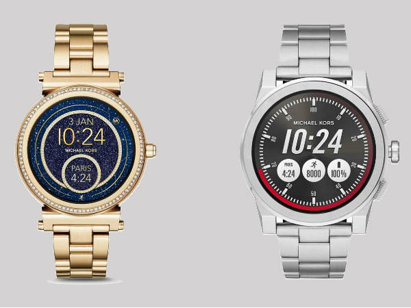 Michael Kors Sofie and Grayson smartwatches announced
