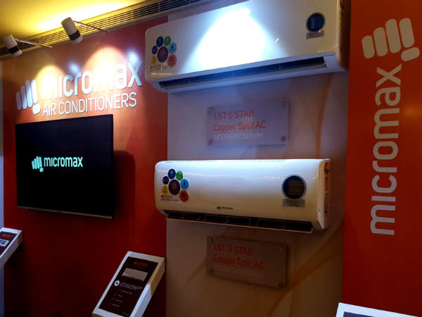 Micromax announces new range of Air conditioners in India