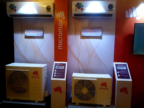 Micromax announces a range of Air Conditioners in India, price starts at Rs. 21,000