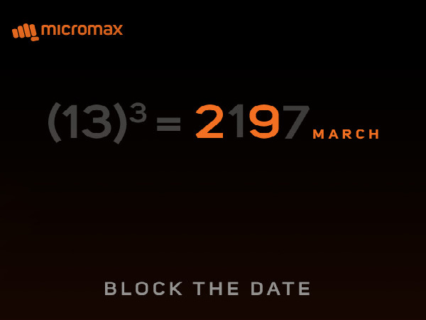Micromax smartphone with dual rear camera setup to be launched on March 29