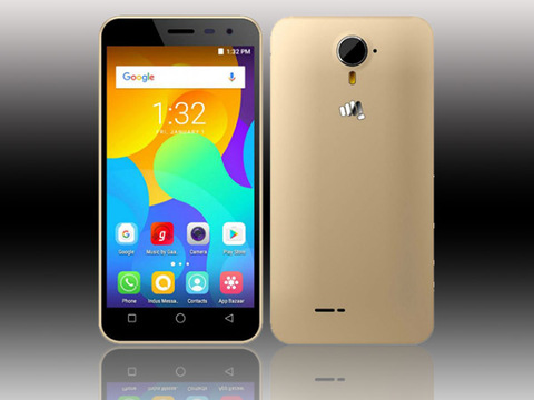 Micromax Spark Vdeo launched, features 4.5-inch display, 4G VoLTE supp