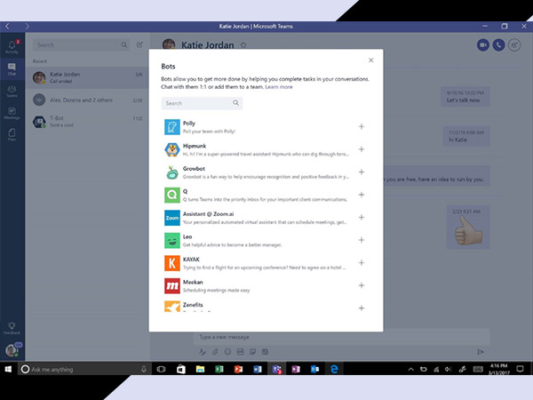 Microsoft Teams - a new chat-based workspace in Office 365