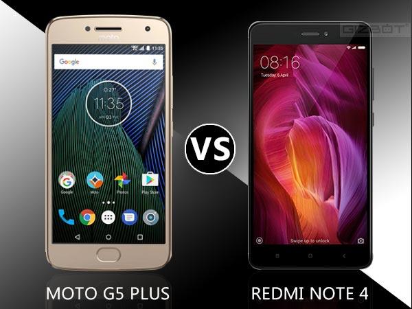 Moto G5 Plus vs Xiaomi Redmi Note 4: A mid-range match