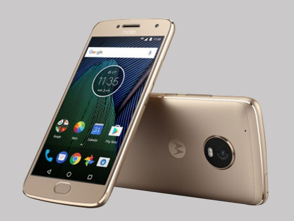 Moto G5 Plus launched with Android 7.0 Nougat and Fingerprint scanner