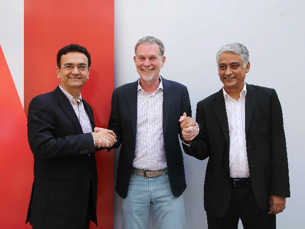 Netflix now partners with Airtel, Videocon d2h, Vodafone