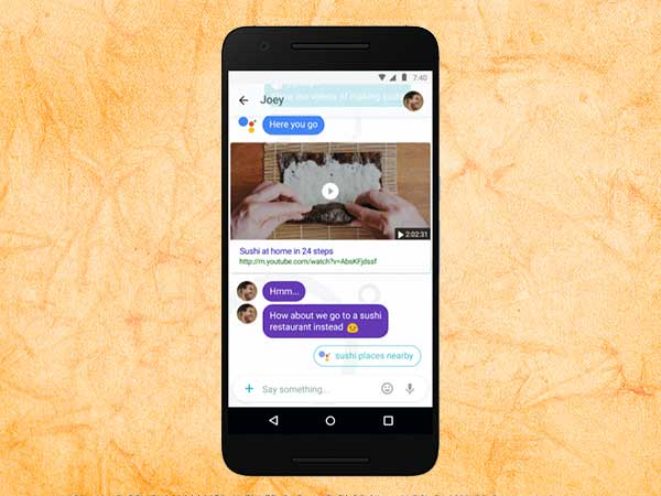 Google Allo updates GIF search, animated emoji and Google Assistant