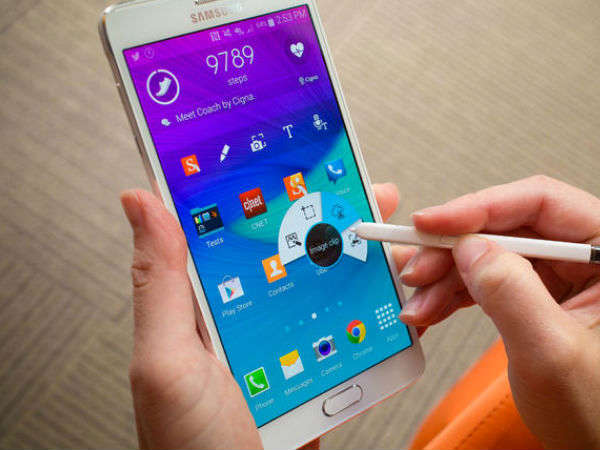 Samsung Galaxy Note 4 starts receiving new update