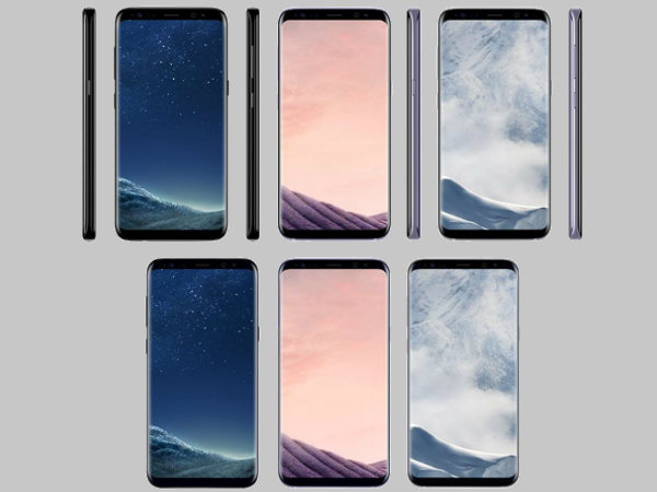 Samsung Galaxy S8 and S8+ color variants and pricing leaked