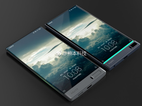 Sharp Aquos phone with bezel-less display looks gorgeous