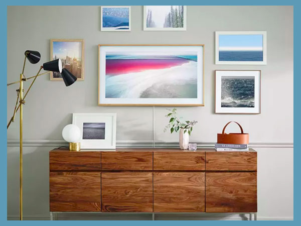 The Frame - Samsung's new TV looks like a piece of wall art