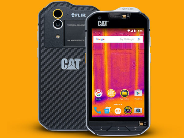 thermal camera featuring cat s60 now available in india high end competitors gizbot. Black Bedroom Furniture Sets. Home Design Ideas