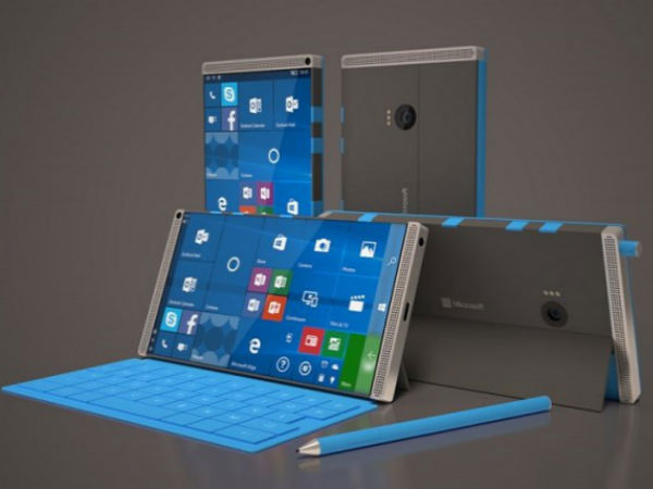 These Microsoft Surface Phone renders may be too futuristic