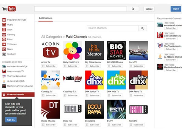 Top 5 YouTube Channels for movie lovers