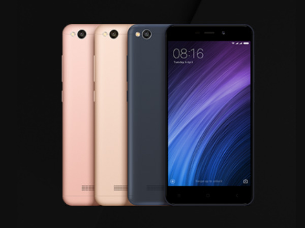 Xiaomi Redmi 4A launched at Rs. 5,999 in India