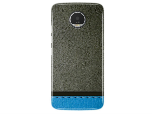 Motorola Moto G5 Plus Cover and Case (Grey And Dark Blue)