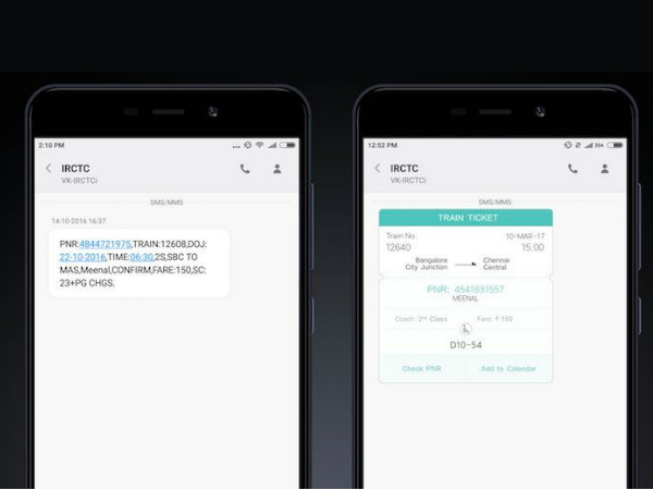 Xiaomi announces a new IRCTC booking status feature