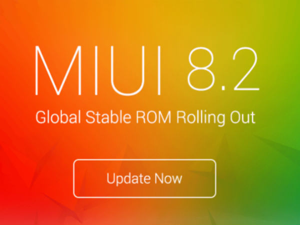 Xiaomi Mi 5 receives MIUI 8.2 update; gets the Android Nougat flavor