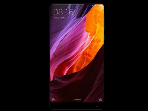Xiaomi Mi MIX 2 prototype video surfaces online: Here's how it looks