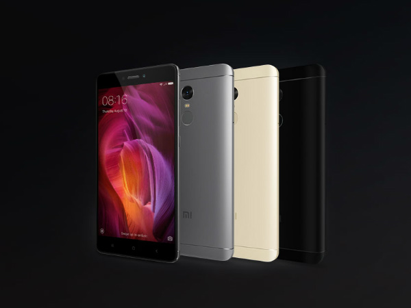 Xiaomi Redmi Note 4 Matte Black variant will be up for today's sale