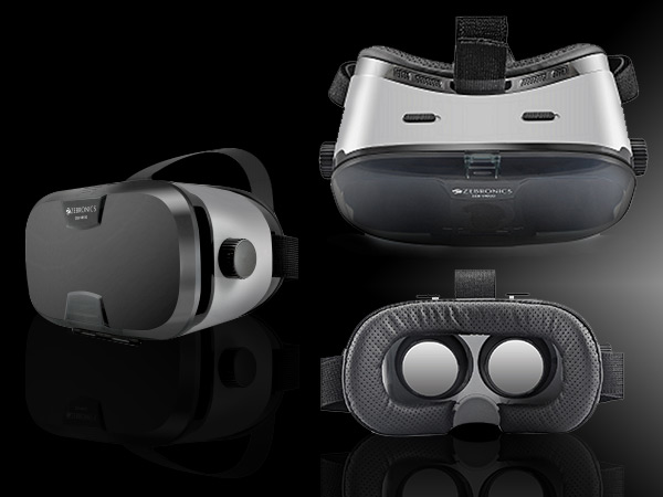 Zebronics launches 'ZEB-VR100' VR headset at Rs. 1,499