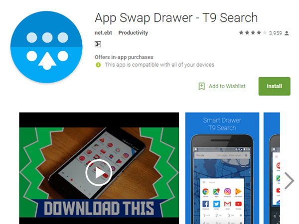 Launch app draw easily