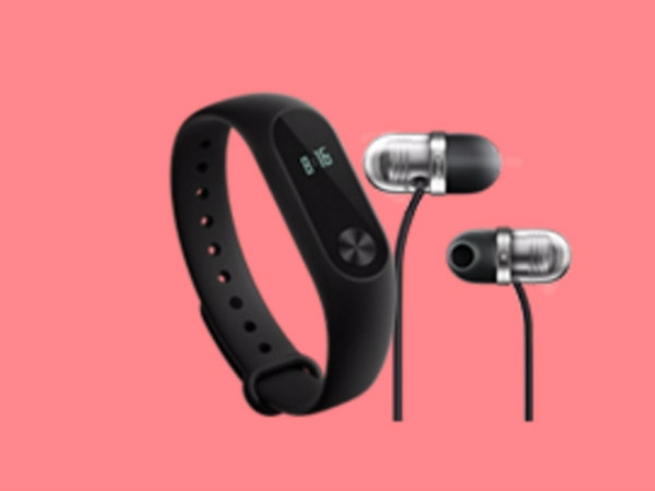 13% off on Mi Band 2 and  Mi Capsule Earphones