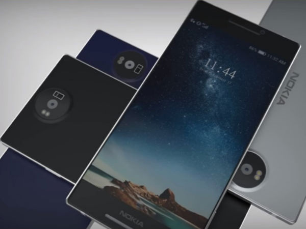 Nokia 9 and Nokia 8 design sketches reveal thin bezels, dual cameras
