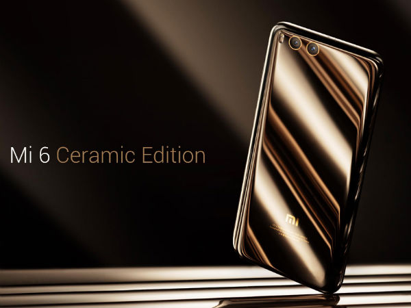 Ceramic edition is also there