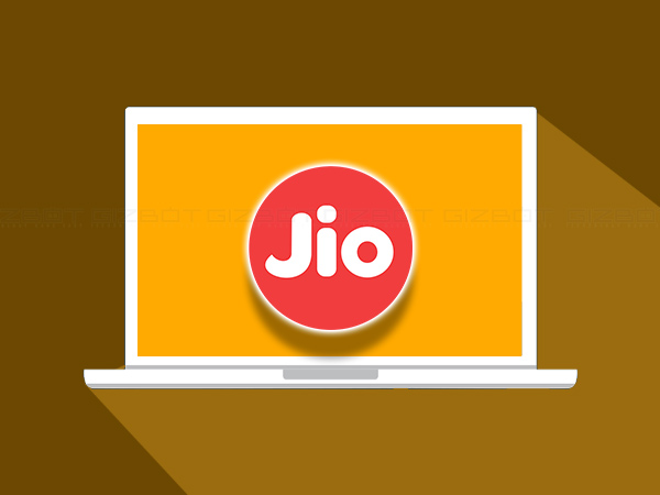 Reliance Jio laptop with SIM card slot