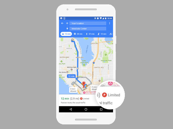 Find Your Parked Vehicle Using Google Maps