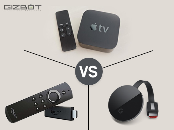 Amazon Fire TV Stick vs Apple TV vs Google ChromeCast