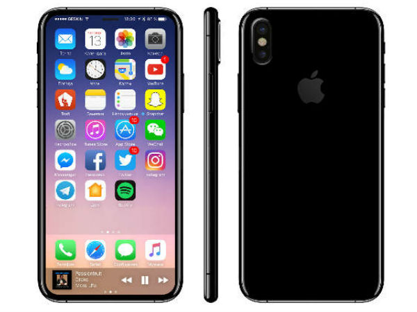 Apple iPhone 8 alleged schematics leaked: Kind of confirms no rear fingerprint scanner