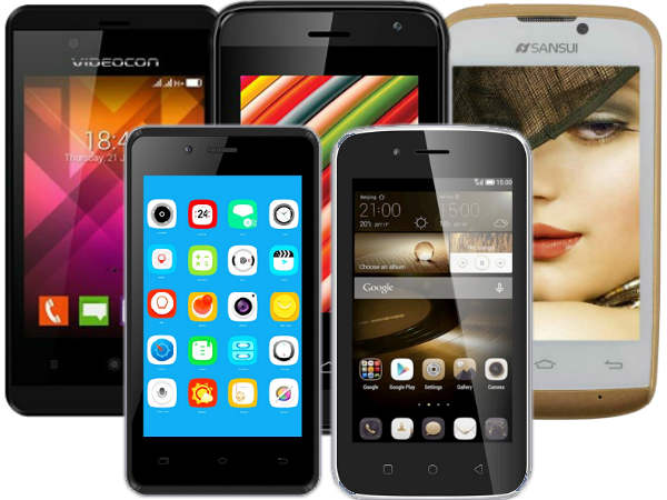 Android smartphones selling at less than Rs 2,000 in India