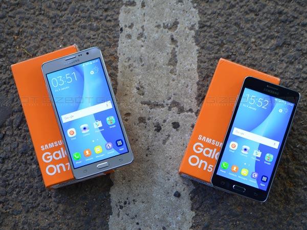 Buy Samsung Galaxy On5 Pro, Galaxy On7 Pro at discount on Amazon