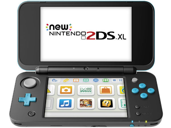 Check out Nintendo's new gaming console: 2DS XL