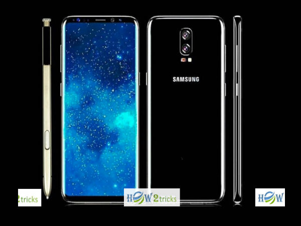 Concept Images of Galaxy Note 8 reveal rear dual cameras