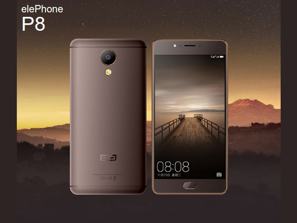 Elephone announced P8 Camera phones