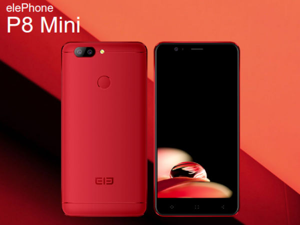 Elephone P8 Mini with 16MP Selfie camera to have 3 color variant