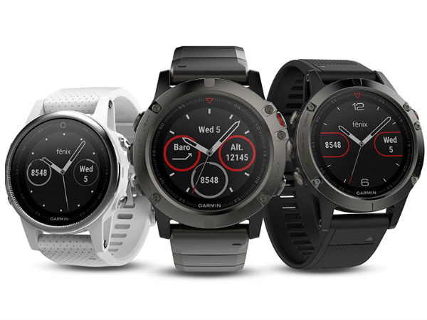 Garmin to soon launch its Fenix 5 Series wearables in India